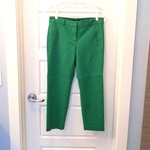 R6 dress pant in green